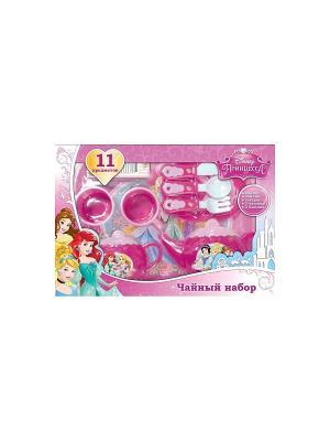 Набор посуды Дисней принцессы Играем вместе. Цвет: розовый