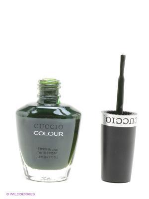 Лак Cuccio Colour, Glasgow Nights, COLOUR. Цвет: темно-зеленый