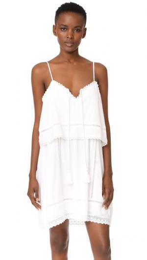 Платье Moana dRA. Цвет: текстурированный белый