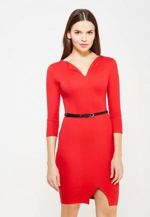 Платье Miss & Missis. Цвет: красный