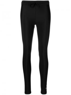 Matte shine leggings Y-3. Цвет: чёрный