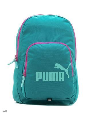 Рюкзак PUMA Phase Backpack. Цвет: бирюзовый