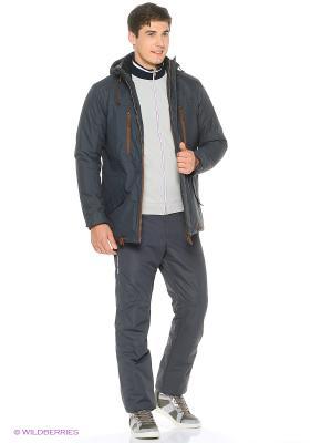 Куртка Stayer. Цвет: коричневый, серый