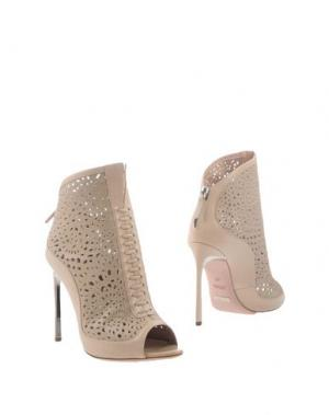 Полусапоги и высокие ботинки SEBASTIAN. Цвет: бежевый