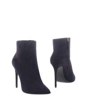 Полусапоги и высокие ботинки GIANMARCO LORENZI. Цвет: темно-фиолетовый
