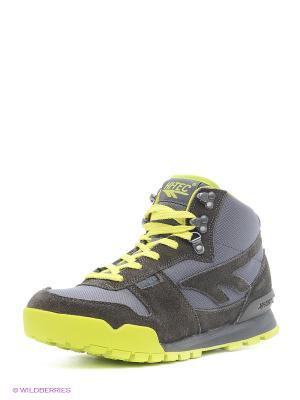Ботинки HI-TEC. Цвет: серый