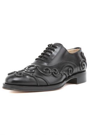 Туфли Valentino. Цвет: черный