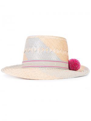Шляпа Naku Yosuzi. Цвет: телесный