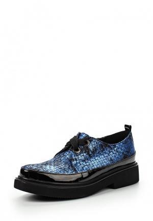 Ботинки Elsi. Цвет: синий
