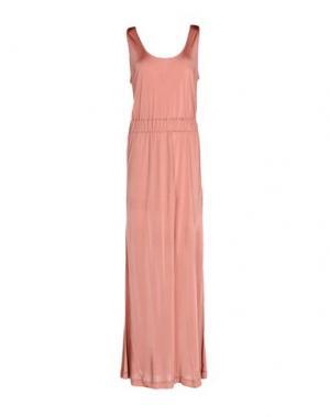Длинное платье .TESSA. Цвет: пастельно-розовый