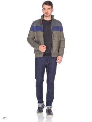 Куртка CHIEMSEE. Цвет: хаки, серый, темно-синий