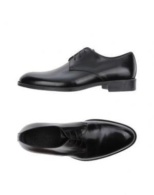 Обувь на шнурках CAMPANILE. Цвет: черный