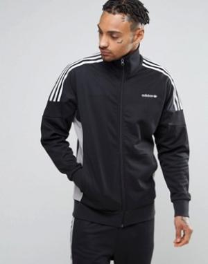 Adidas Originals Черная спортивная куртка CLR84 BK5915. Цвет: черный