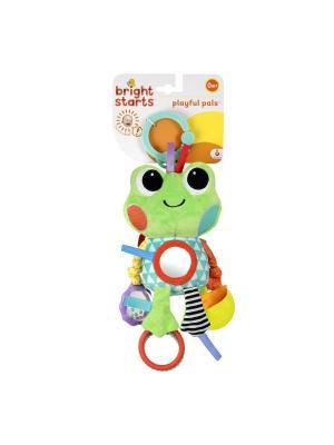 Развивающая игрушка Озорные друзья, лягушонок (10816) BRIGHT STARTS. Цвет: зеленый