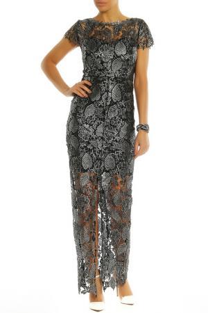 Платье PAPER DOLLS. Цвет: silver, black