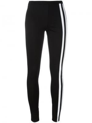Спортивные штаны с полосками по бокам Y-3. Цвет: чёрный
