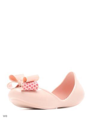 Туфли ZAXY. Цвет: бледно-розовый
