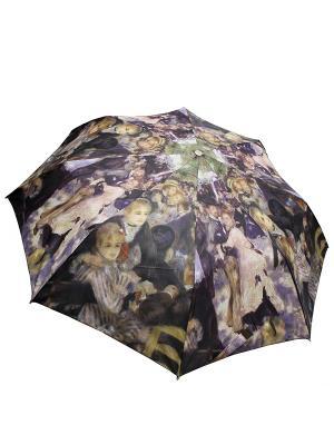 Зонт Edmins. Цвет: серо-коричневый, персиковый, темно-коричневый