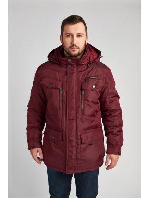 Куртка VIZANI. Цвет: бордовый