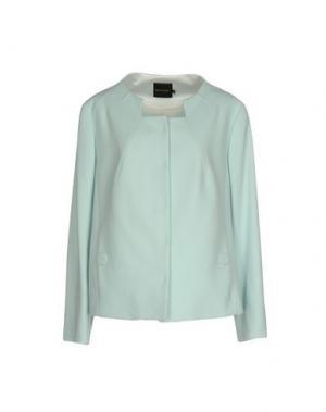 Пиджак NATAN+. Цвет: небесно-голубой