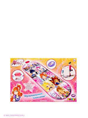 Танцевальный коврикКлассики из серии WINX, 1/6 Smoby. Цвет: розовый