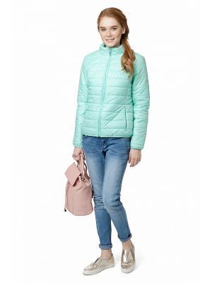 Куртка Baon. Цвет: бирюзовый