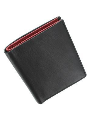 Бумажник Javelin Visconti. Цвет: черный,красный
