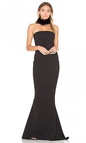 Вечернее платье angelina Nookie. Цвет: черный