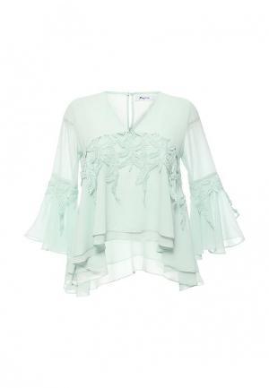 Блуза Paccio. Цвет: мятный