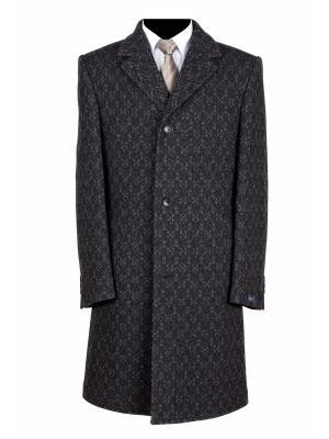 Пальто FOSP. Цвет: темно-зеленый, темно-серый