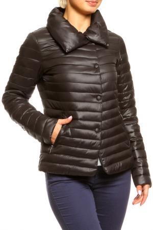 Куртка AZULE. Цвет: черный