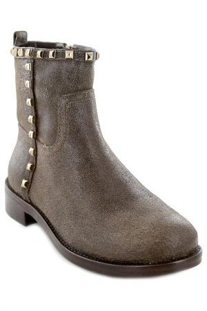 Ботинки Tory Burch. Цвет: серый