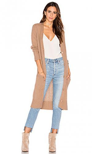 Кардиган из кашемира delanna 360 Sweater. Цвет: коричневый