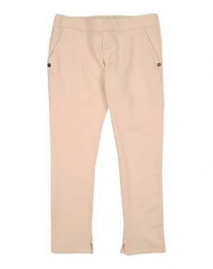 Повседневные брюки MANILA GRACE DENIM. Цвет: светло-розовый