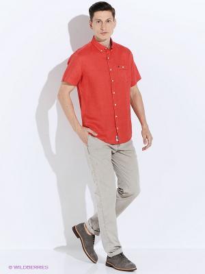 Рубашка Men of all nations. Цвет: красный