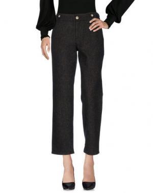 Повседневные брюки RENLI SU. Цвет: темно-зеленый