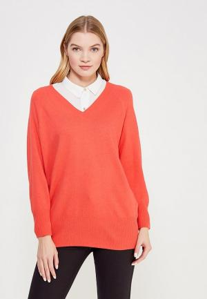 Пуловер Delicate Love. Цвет: коралловый
