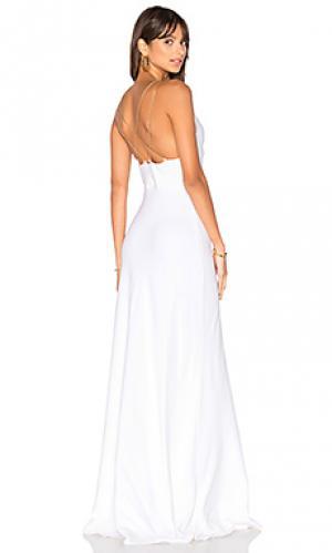 Вечернее платье chantel RAMY BROOK. Цвет: белый