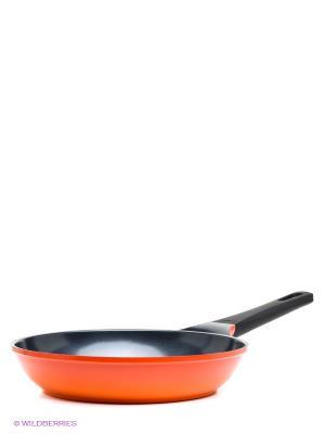Сковорода Orange 26 см Frybest. Цвет: оранжевый, черный