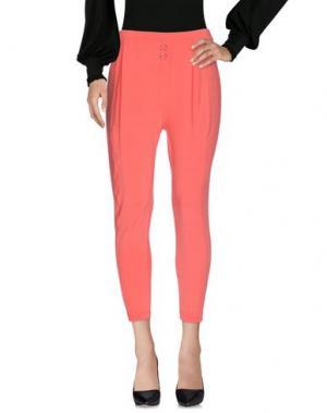 Повседневные брюки JEI O'. Цвет: коралловый