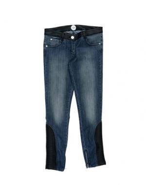 Джинсовые брюки PARROT. Цвет: синий