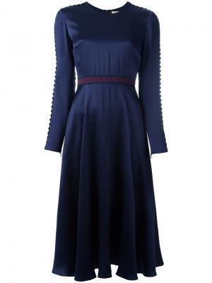 Платье Lasdun Roksanda. Цвет: синий
