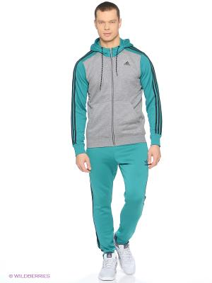 Брюки Sst Cuffed Tp Adidas. Цвет: бирюзовый