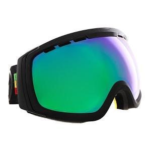 Маска для сноуборда  Feenom Nls Black Gloss/Satin/Quasar Chrome Von Zipper. Цвет: черный
