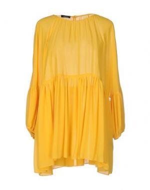 Блузка HANITA. Цвет: охра
