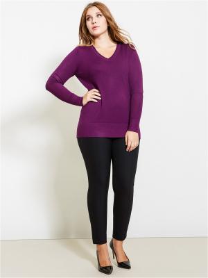 Пуловер Fiorella Rubino. Цвет: фиолетовый