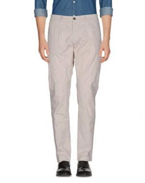 Повседневные брюки JEORDIE'S. Цвет: светло-серый