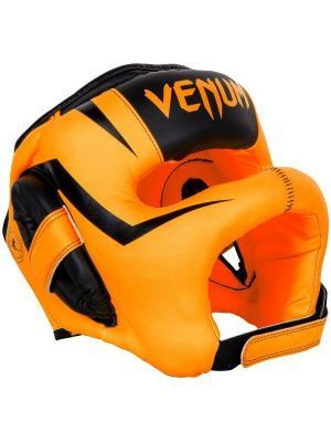 Шлем боксерский Venum Elite Iron Fluo Orange. Цвет: оранжевый