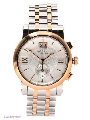 Часы наручные HAAS & Cie SFMH 001 OSA. Цвет: серебристый, золотистый