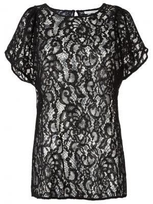 Sheer lace blouse Martha Medeiros. Цвет: чёрный